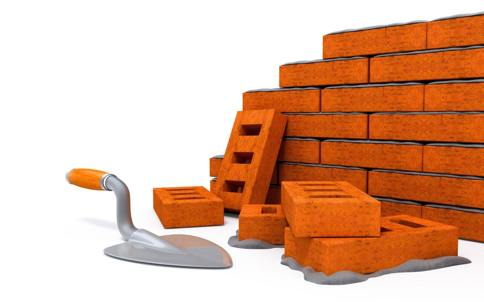 строительный технический углерод и кирпичи